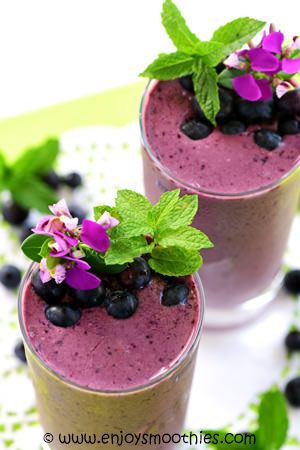acai blueberry smoothie