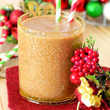 almond nog smoothie