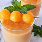 banana cantaloupe smoothies