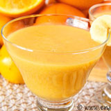 banana orange mandarin smoothie