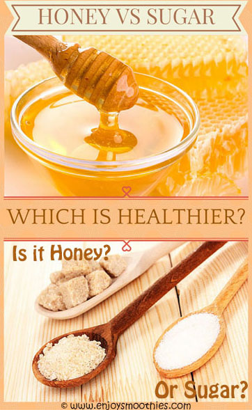 honey vs sugar - is honey better than sugar