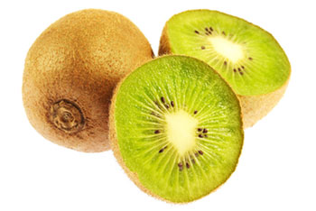 kiwi fruit halves