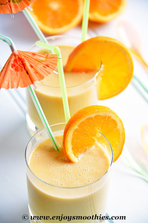 maca orange smoothie