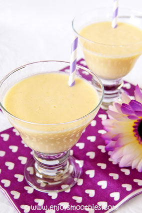 creamy orange and lemon smoothie