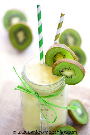 pineapple Caribbean smoothie