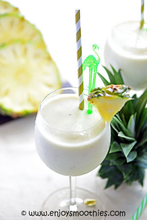 pineapple colada smoothie