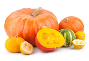 assortment of pumpkin and squash