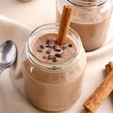 chocolate banana cinnamon smoothie