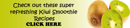 check out these kiwi smoothie recipes