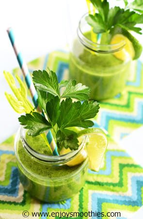 minty green smoothie