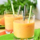 nectarine orange smoothie
