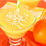 orange pineapple mango smoothie