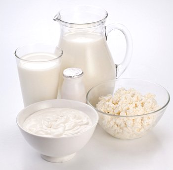 Milk, yogurt and cottage cheese for protein smoothies