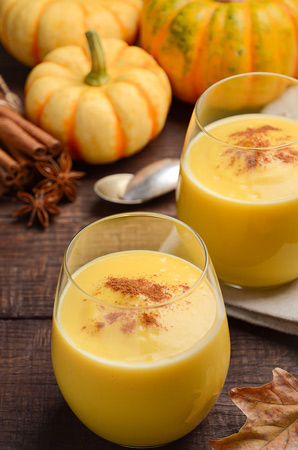 Spicy Pumpkin Smoothie with Turmeric