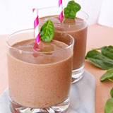Green Smoothies made with Spinach
