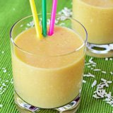 white bean mango smoothie